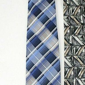 Van Heusen Accessories - Van Heusen Mens Necktie Lot of 5 Designer Ties 445